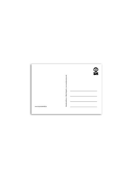 Wilde Postkarte Künstleredition
